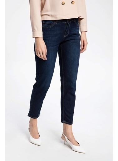DeFacto Susana Slim Fit Denim Pantolon Mavi